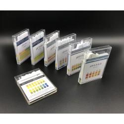 Bandelettes plastiques pH 0 - 6